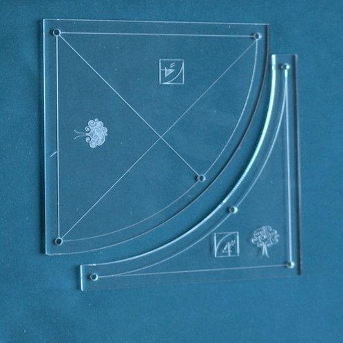 """4"""" Radius Circle"""
