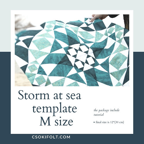 Storm at sea Size M
