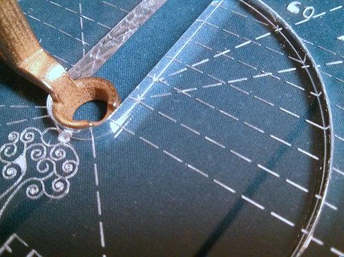 """2"""" - 3"""" - 4"""" radius circle ruler"""