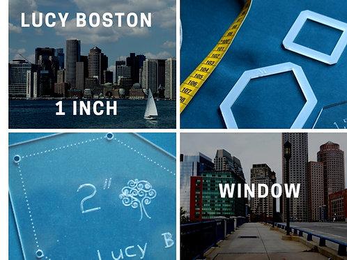 "LUCY BOSTON  1"" window"