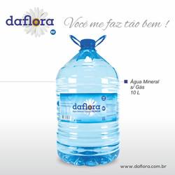 Galão PET Daflora 10 litros sem gás