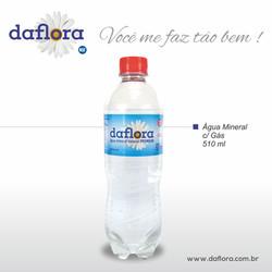 Garrafa PET Daflora 510 ml com gás