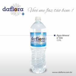 Garrafa PET Daflora 1,5 litros sem gás