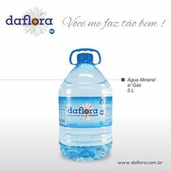 Galão PET Daflora 5 litros sem gás