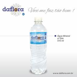 Garrafa PET Daflora 510 ml sem gás
