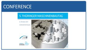 5. Thüringer Maschinenbautag