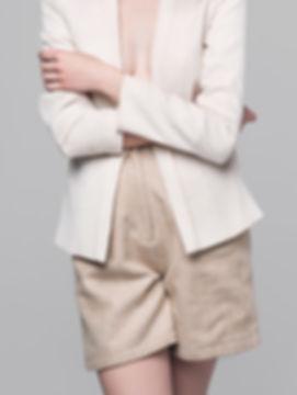 Shorts e no revestimento