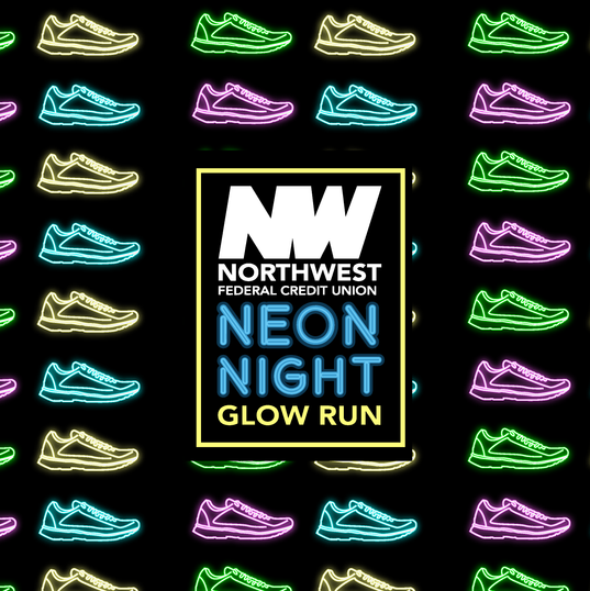 Glow Run Reminder Post