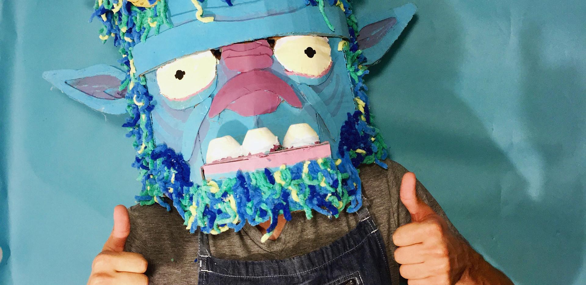 Wearing My Troll Mask