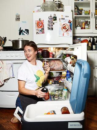 qoman in kitchen.jpg