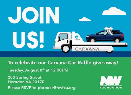 Carvanna Event Invite