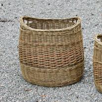 Oval Log Basket £120
