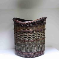 Homegrown Log Basket