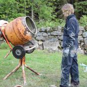 Hilary Cement Mixer