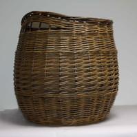 Log Basket Inegral Handles