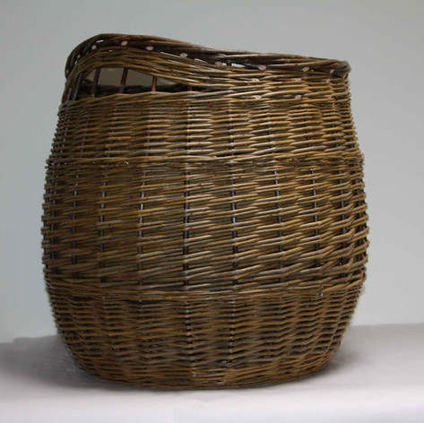 Log Basket Inegral Handles