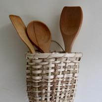 Split Hazel Wall Basket £40