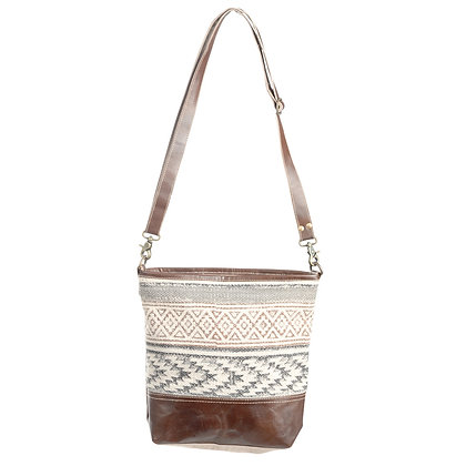 Clea Ray Vintage Tapestry Fabric Shoulder Bag