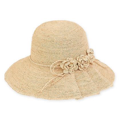 Premium Crochet Flower Hat
