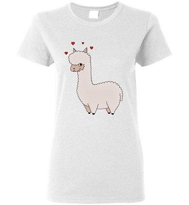 Alpaca Love Ladies Short-Sleeve Tee
