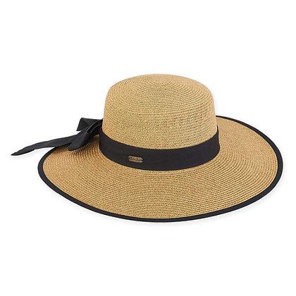 Wide Brim Bow Hat