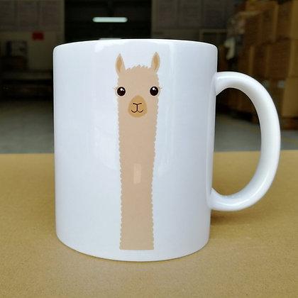 Alpaca Watching Mug