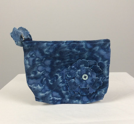 Felted Flowers Travel Bag