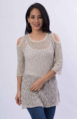 Nancy Knitted Cotton Top