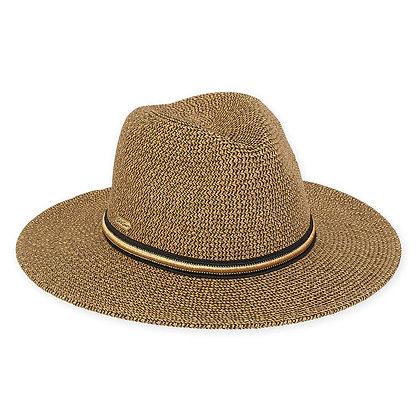 Metallic Paper Braid Safari Hat