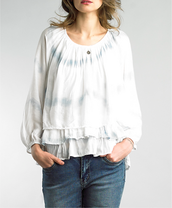 Tempo Paris Medallion Blouse