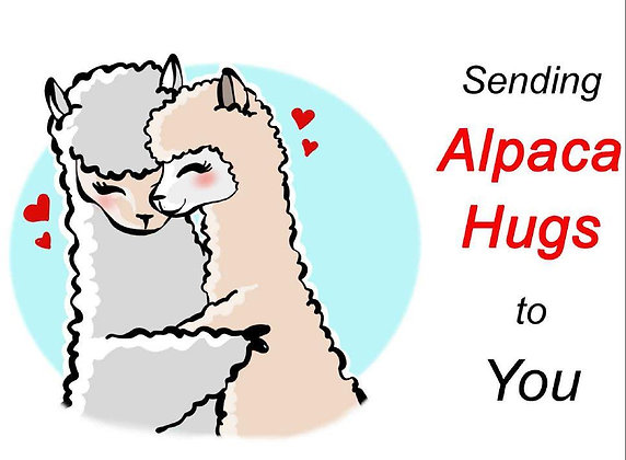 Hugs to You Greeting Card