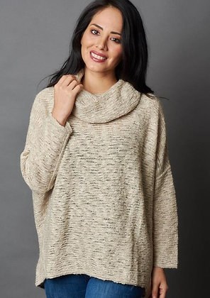 Yuraq Alpaca & Cotton Oversized Sweater