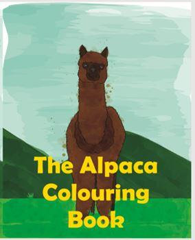 Alpaca Coloring Book