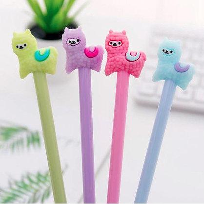 Adorable Alpaca Gel Pens