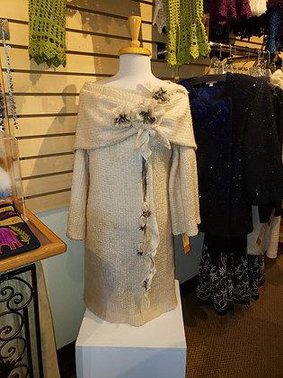 Left Floral Detail Dress