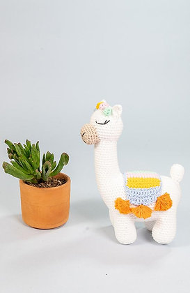 Lily the Alpaca