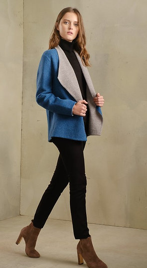 Steffie Reversible Coat