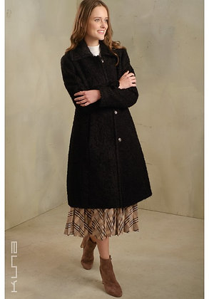 Tasty Suri Alpaca Coat (Black)