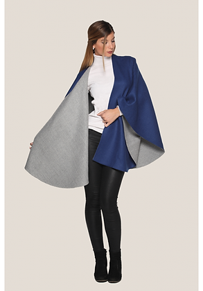 Ruana Reversible Cape