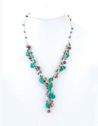 Jade Y Necklace