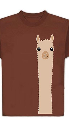 Alpaca Watching T-Shirt