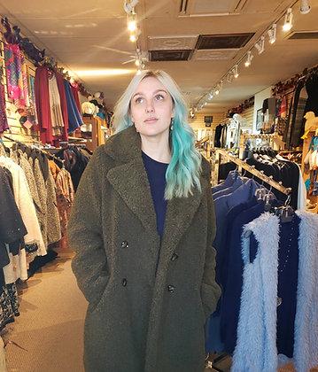 Longline Teddy Bear Coat