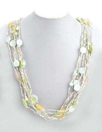 Beaded Ceramic Necklace