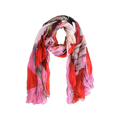 """Rouge"" Print Scarf"
