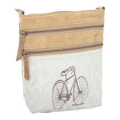 Two Tone Bike Shoulder Bag