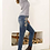 Thumbnail: Peyton Floral Distressed Jeans