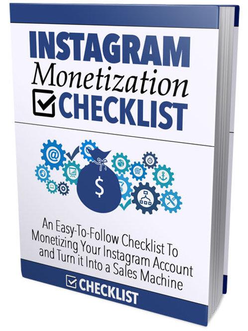 Instagram Monetization Blueprint - Top Seller!