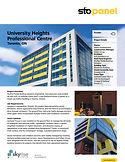 StoPanel Project Profile University Heig