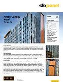 Hilton Canopy Hotel StoPanel Project Pro