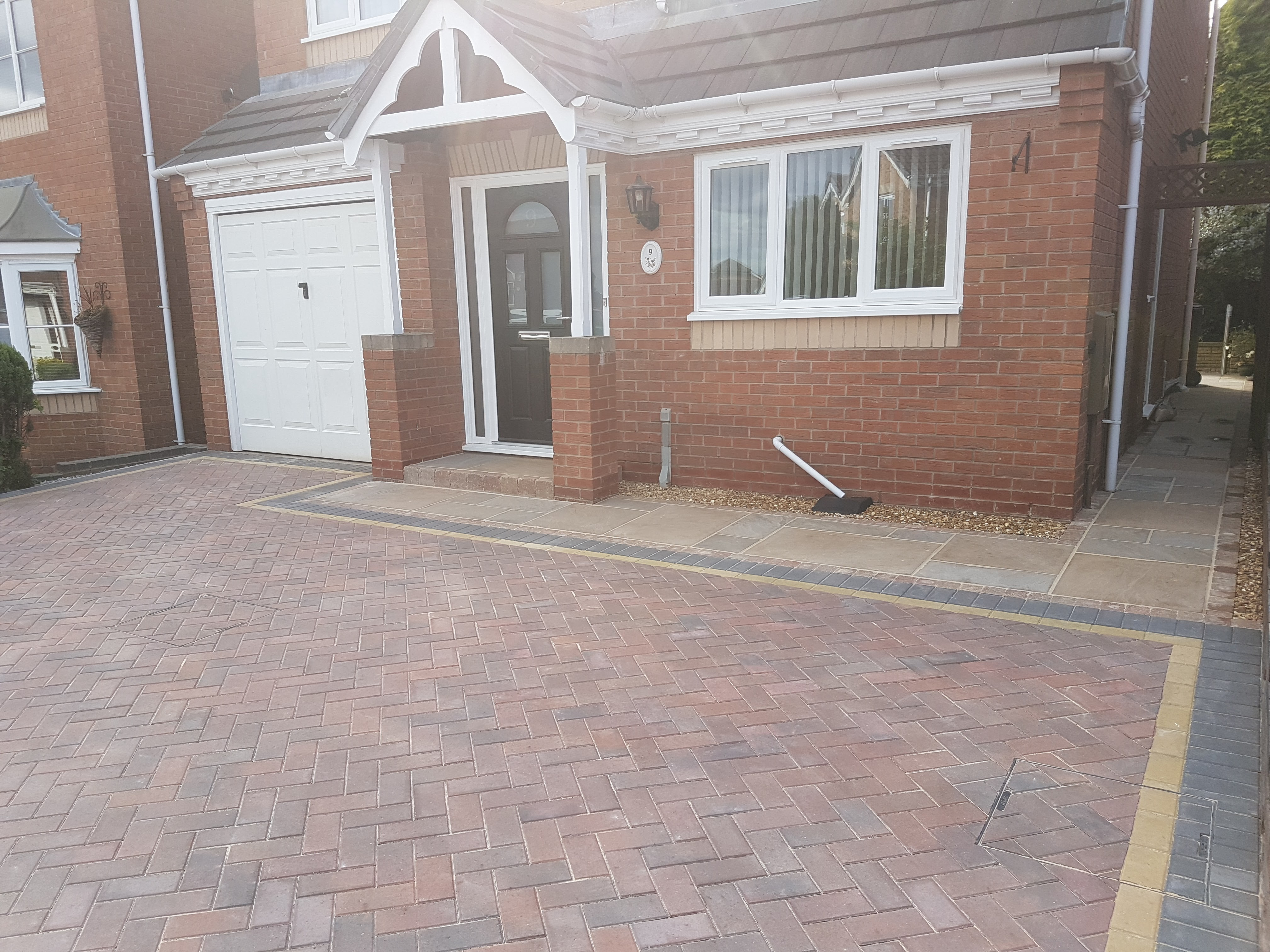 Black paving Brewood